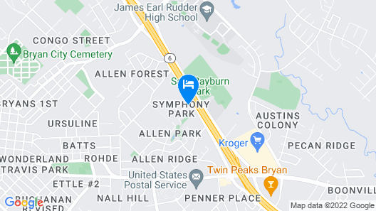 Quality Inn & Suites Bryan Map