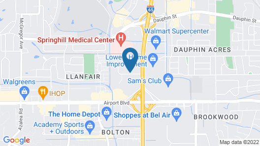 Holiday Inn Mobile - Airport, an IHG Hotel Map
