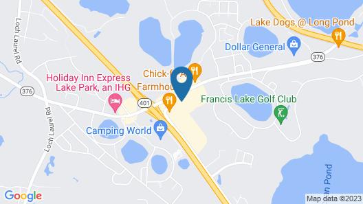 OYO Hotel Twin Lake- Lake Park / Valdosta area Map