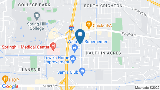 Holiday Inn Express & Suites Mobile West - I-65, an IHG Hotel Map