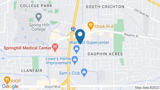 Fairview Inn and Suites Map