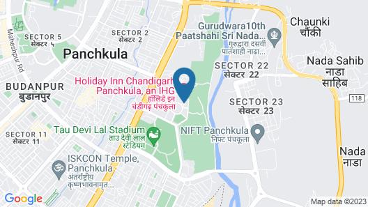 Holiday Inn Chandigarh Panchkula, an IHG Hotel Map