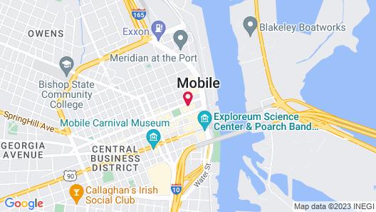 The Battle House Renaissance Mobile Hotel & Spa Map