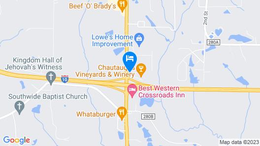 Super 8 by Wyndham Defuniak Springs Map