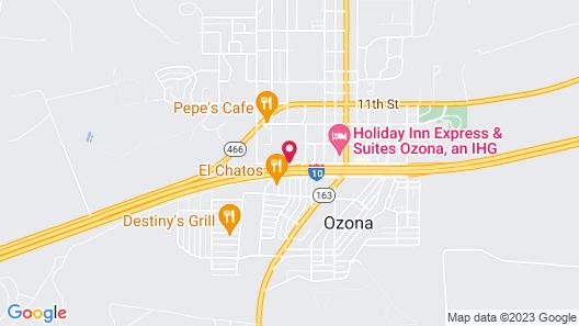 Hampton Inn Ozona Map