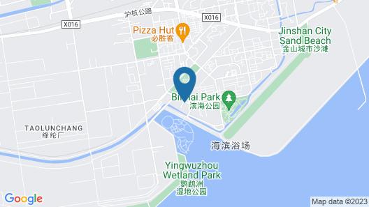 Shanghai Haitan Hotel Map