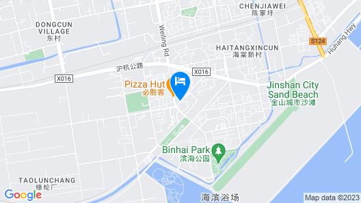 Jinjiang Inn Jinshan City Sands Map