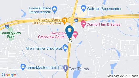 Baymont by Wyndham Crestview Map
