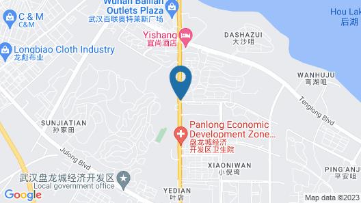 Atour Hotel Panlong Avenue Wuhan Map