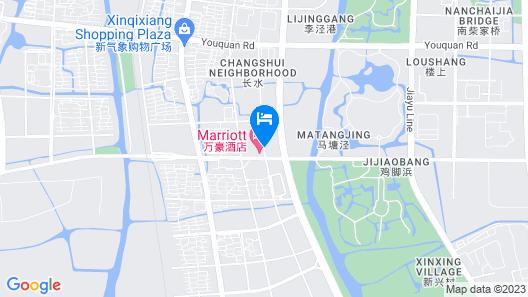 Jiaxing Marriott Hotel Map