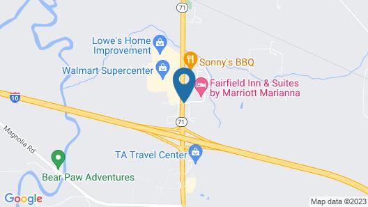 Fairfield Inn & Suites Marianna Map