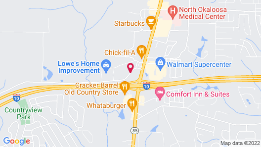 Country Inn & Suites by Radisson, Crestview, FL Map