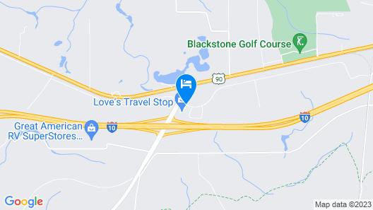 Sleep Inn & Suites Defuniak Springs - Crestview Map