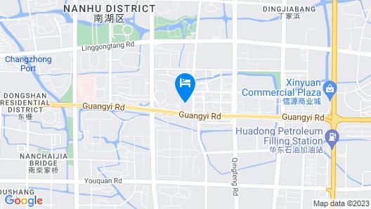 Hilton Jiaxing Map