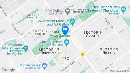 Taj Chandigarh Map