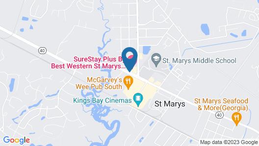 Cumberland Inn & Suites Map