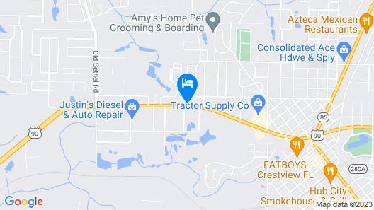 Crestview Inn Map
