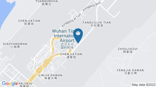 New Beacon Airport International Hotel Map