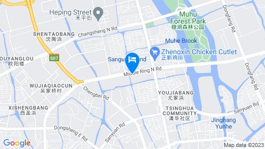 Hotel Aventine Map