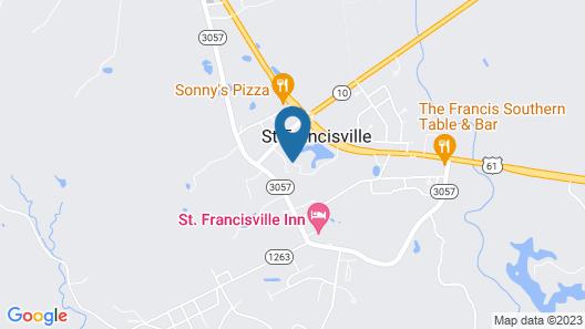 Hotel Francis Map