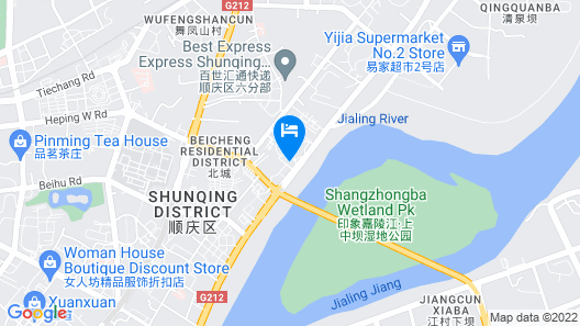 Regal International Sungdo Hotel Map