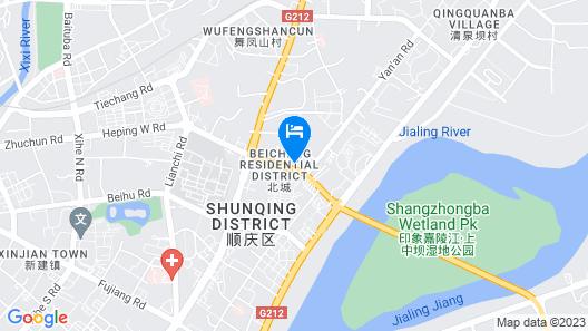 Tiansheng Hotel Map
