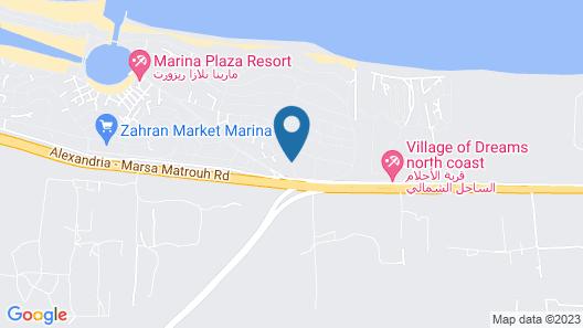 Marina Village North Coast Map