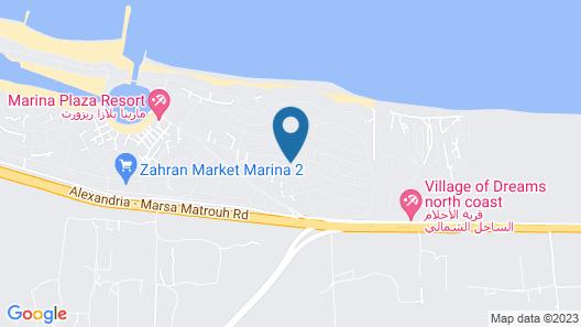 Marina Villa North Coast Egypt Map
