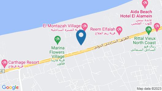 Plan B El Montazah Hotel Map