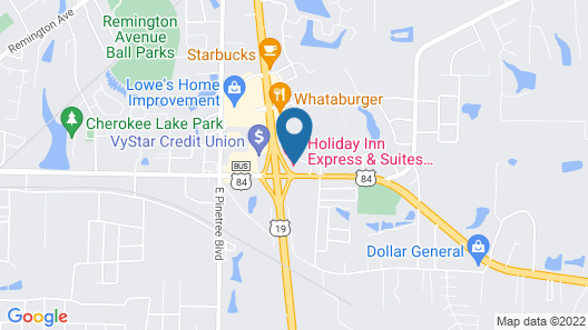 Holiday Inn Express & Suites Thomasville, an IHG Hotel Map