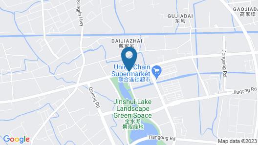 Holiday Inn Shanghai Jinshan, an IHG Hotel Map