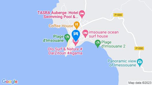 Auberge Imsouane Map