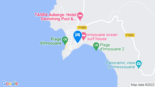 Imsouane Guesthouse Map