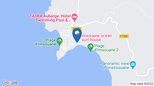 Africa Surf House Map