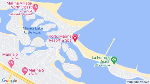 Porto Marina Resort & Spa Map