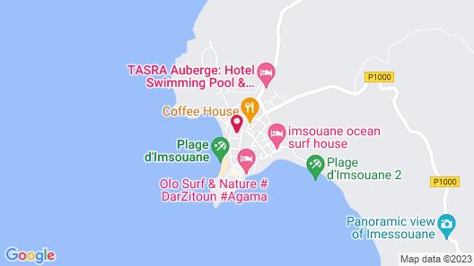 Genova surf house Map