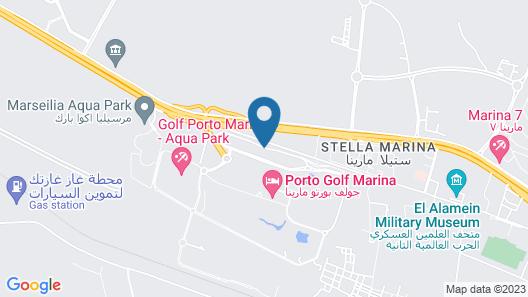 Golf Porto Marina Map