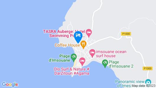 Auberge Dar Naima - Hostel Map