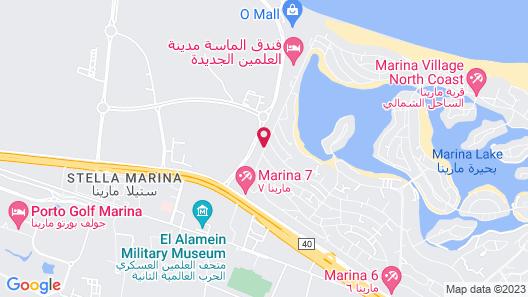 Crystal Inn by Almasa - El Alamein Map
