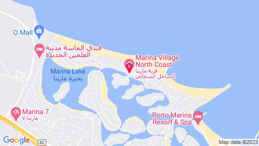 Hotelux La Playa Alamein Map