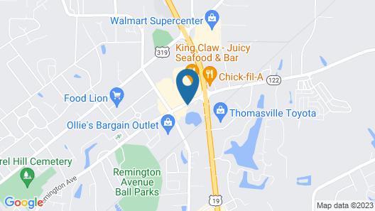 Baymont by Wyndham Thomasville Map