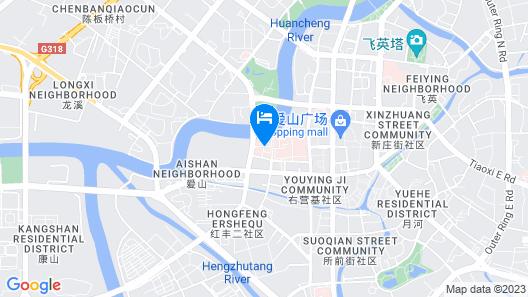 Huzhou International Hotel Map