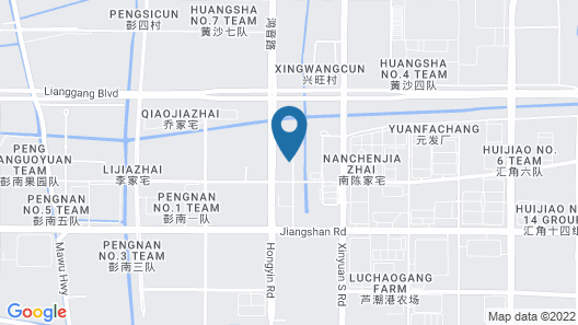 Howard Johnson Plaza Lingang Shanghai Map