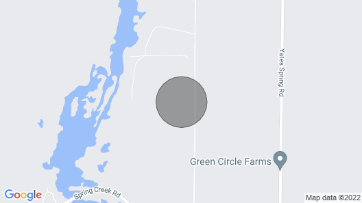 Back of the Moon Lodge -spring Creek-lake Seminole Map