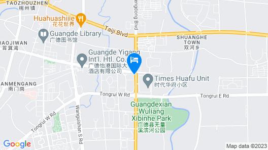 GreenTree Inn GuangDe County ZhongYang LeCheng Hotel Map