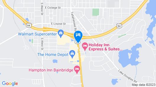 Holiday Inn Express Hotel & Suites Bainbridge, an IHG Hotel Map