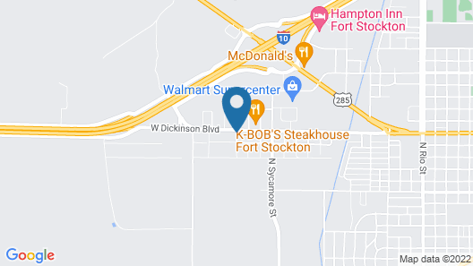 Holiday Inn Express Hotel and Suites Fort Stockton, an IHG Hotel Map