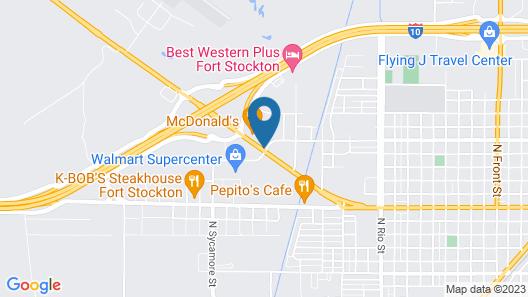 Days Inn by Wyndham Fort Stockton Map