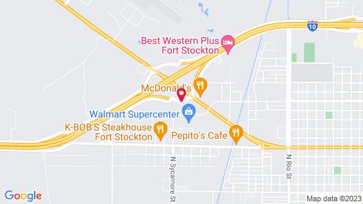 Baymont by Wyndham Fort Stockton Map