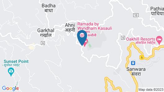 Ramada by Wyndham Kasauli Map